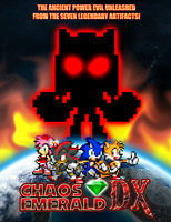 Chaos Emerald DX Poster by KingAsylus91