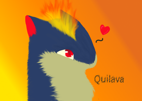 Quilava by Lanilili