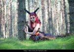 Forest demon 10 - female stock by Dea-Vesta