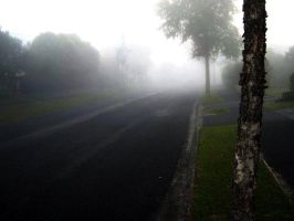 Cool fog in a shitty town by Jugglingwithfire