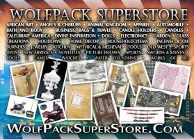 Wolfpack Superstore 5x7 Flier by Two-Players