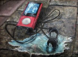 This song leaks out onto the pavement by YaensArt