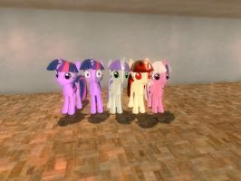 Gmod - The Many Faces of Twilight Spakle by mattwo