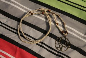 Tree of life Hemp Necklace by TheNatchan