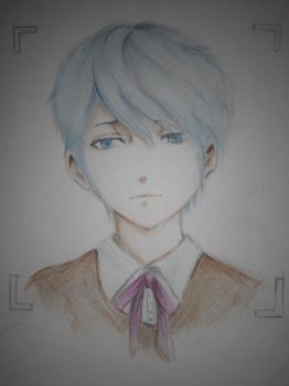 young V (mystic messenger) wip by jhasthedeathnote