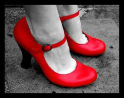 Red Shoes by BreakfastOfChampions