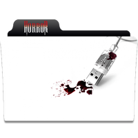 Horror Genre Movie Folder Icon by SFCAirborne51