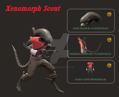 Xenomorph Scout by Spinosaur123