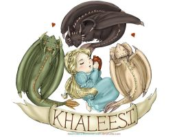Lil' Khaleesi by sketchditto
