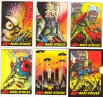 Mars Attacks return cards by ragelion