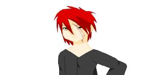 Guy i made on paint by ArdeOnodera101