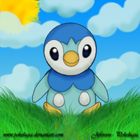 Piplup by pokelugia