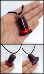 Professor Layton's Top Hat Charm Necklace by WINGEDLESS
