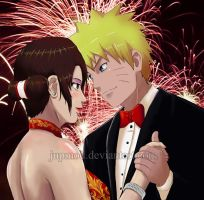 NaruTen: New Year's Midnight Dance of Love by JuPMod