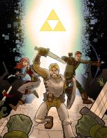 Zelda RPG book cover by Finfrock