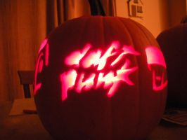 Daft Punk Pumpkin 1 by Gpoobah17