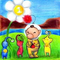 Pikmin by TrippinDippy