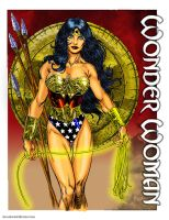 Wonderwoman DC Comics by Hawkwind25
