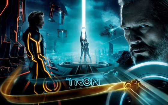 Tron Legacy Wall by rehsup