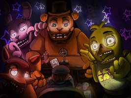 Five Nights at Freddy's by lunasgrayeyes