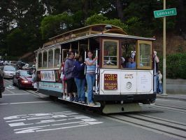 Trolley at Lombard by Gzip16