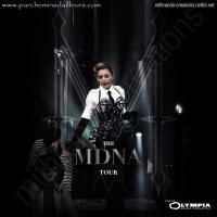 MDNA Tour Olympia CD Cover by Mithrandir29