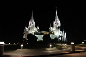 San Diego Temple by Ericseye