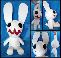 Sagan Plushie Puppet by AppleDew