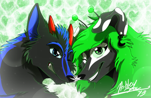 Look at Us, We are beautiful by xAshleyMx