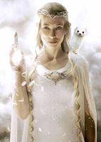 Galadriel and Her Daemon by LJ-Todd