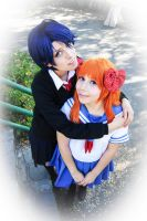 Kashima and Chiyo by MiahObsession