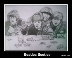 beatles beetles by cfitzart