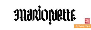 Ambigram for Marionette by ivan-chen