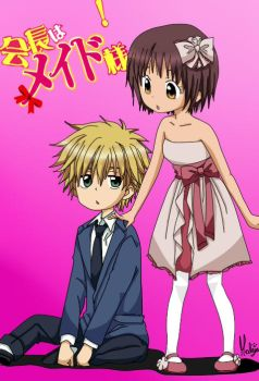 infancy with Misaki and Usui by MalejagutiTheCat