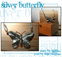 Silver Butterfly by ValkAngie