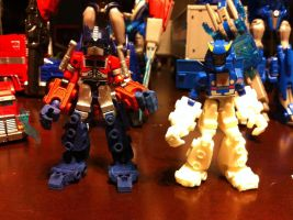 Upgraded Optimus Prime Kreon by wulongti