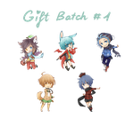 G: Vai, SmilingAngel, Skully, FnM, and Kaii (pre) by Me2Unique