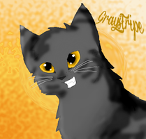 Graystripe for Contest by TheImprovisedJay