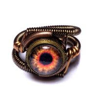 Steampunk Fire Ring by CatherinetteRings