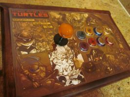 TMNT custom arcade stick by AnomalyArcadeSticks
