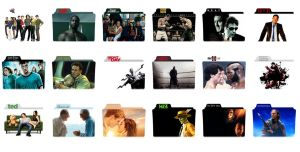 Movies Folder Icon Mega Pack by Malamadre by Resines