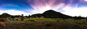 Estes Park Sunset by KamilGPhotography