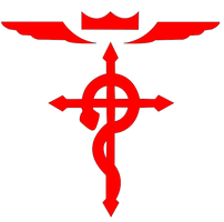 Full Metal Alchemist - Cross logo by TheEternalManga