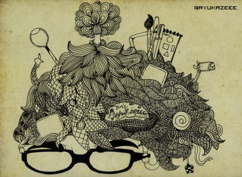 Abstract My Head by dhiolawliet