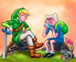 Finn and Link by brunotsu