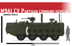 M9A1 APC Command Vehicle by Afterskies