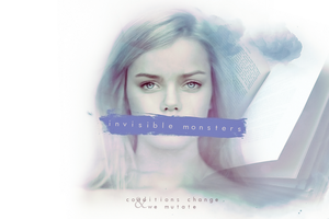 Invisible Monsters by GotMyAddictions
