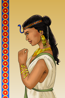 Queen of the Nile by ErinPtah