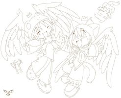 Ryuiko Art gift. Not finish. by maguro-chan