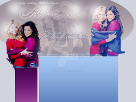 Ashley Tisdale Layout 3 by GiraffeAndy
